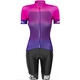 Red Cycling Products Colorblock Race Kleding set Dames roze/violet